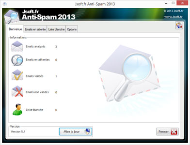 Click to view Jsoft AntiSpam screenshots